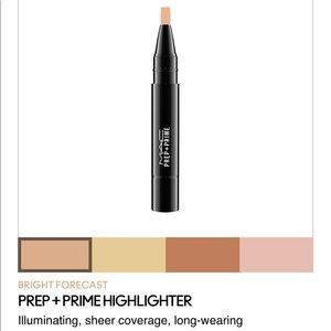 MAC cosmetics pre-prime highlighter